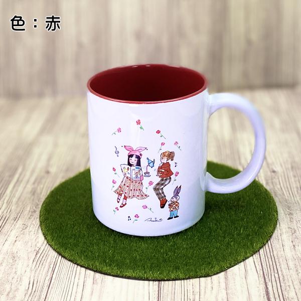 カワイイ&おとめチック / 陸奥A子 マグカップ「薔薇とばらの日々」 L ...