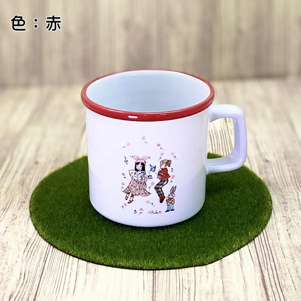 カワイイ&おとめチック / 陸奥A子 マグカップ「薔薇とばらの日々」 М ...