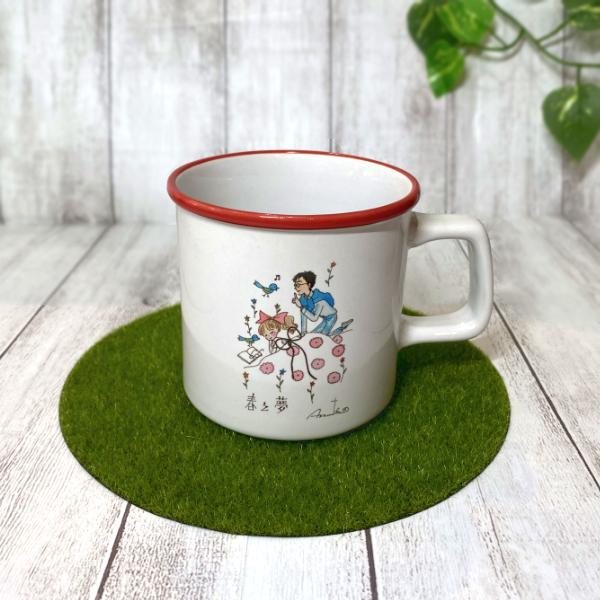 カワイイ&おとめチック / 陸奥A子 マグカップ「薔薇とばらの日々の中 ...